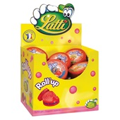 Lutti Kauwgom Roll Up Aardbei