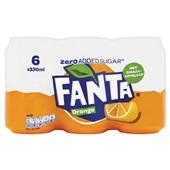 Fanta Zero Sinas Orange