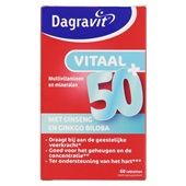 Dagravit Vitaminen En Mineralen Vitaal 50+