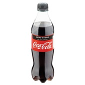 Coca Cola Zero Fles 500 Ml achterkant