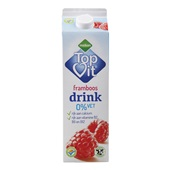 Melkan 0% Vet Drinkyoghurt Framboos