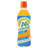 AA Drink Energydrank High energy voorkant