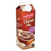 Melkunie Vla Chocolade achterkant