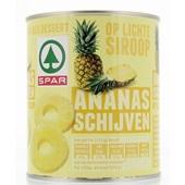 Spar Ananasschijven Op Siroop