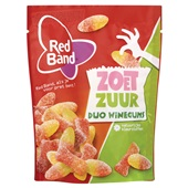 Red Band Winegum Duo Zoet Zuur