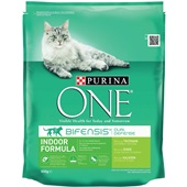 Purina ONE Kattenvoer Indoor Rijk Aan Kalkoen En Granen