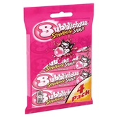 Bubblicious Kauwgom Strawberry Splash 4-Pack achterkant