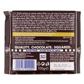 Ritter Sport Chocolade Pure Chocolade Hazelnoot achterkant