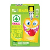 Spar Knijpfruit Appel-Banaan