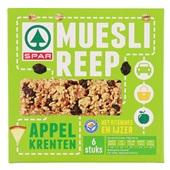 Spar Mueslireep Appel Krenten