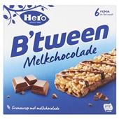 Hero B'Tween Melkchocoladerepen voorkant