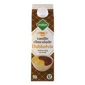 Melkan dubbelvla Chocolade Vanille