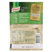 Knorr Kaassaus achterkant