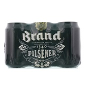 Brand Pils Bier Blik  6X33 Cl voorkant