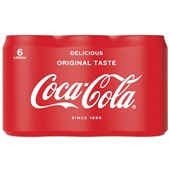 Coca Cola regular blik 6x33cl