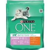 Purina ONE Kattenvoer Junior Rijk Aan Kip En Granen