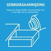 Robijn Wasverzachter Puur & Zacht achterkant
