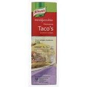 Knorr Wereldgerechten Taco'S achterkant