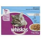 Whiskas Kattenvoer Visselectie In Gelei