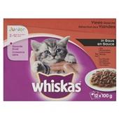 Whiskas Kattenvoer Junior Vleesselectie In Saus