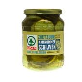 Spar Komkommer Schijven Zoetzuur voorkant