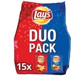 Lay's Chips 15 Duopack Naturel/Paprika