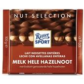 Ritter Sport Chocolade Melkchocolade Hele Hazelnoot