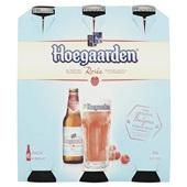 Hoegaarden Bier Rose  Bierfles  6X30Cl