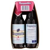 Hoegaarden Bier Rose  Bierfles  6X30Cl achterkant