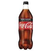 Coca Cola Zero Fles 1 Liter