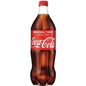 Coca Cola regular fles 1 liter