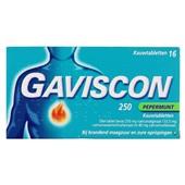 Gaviscon Maagtabletten Pepermunt