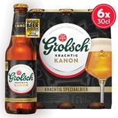 Grolsch Het Kanon Bier Fles 6X30 cl
