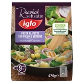 Iglo Diepvriesmaaltijd Pasta Kip/Pesto