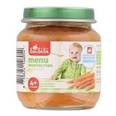 Bonbébé Baby/Peuter Maaltijd Menu Met Worteltjes