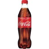 Coca Cola Regular Cola Fles 500 Ml voorkant