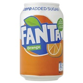 Fanta Frisdrank Orange Zero Blik 33cl