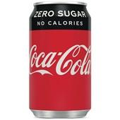 Coca Cola Zero Cola Blik 33CL voorkant