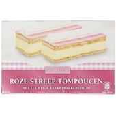 Quality Pastries Roze streep tompouchen