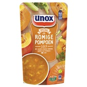 Unox Soep in Zak Pompoen