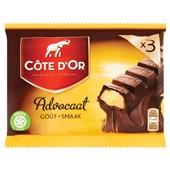 Côte d'Or Chocolade Gevulde Reep Met Advocaat