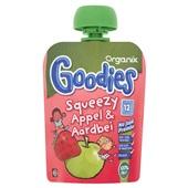 Organix Goodies Squeezy Appel&Aardbei