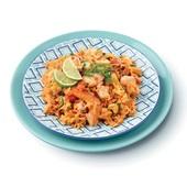 Culivers (1) rijstschotel met vis op Portugese wijze