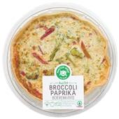 Spar Ambachtelijke quiche Broccoli, paprika en boerenkaas