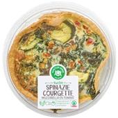 Spar Ambachtelijke quiche Spinazie, kaas, courgette en paprika