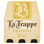 La Trappe bier blond