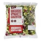 macaroni/spaghetti groente