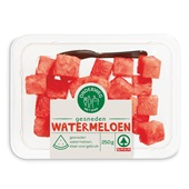 Spar gesneden watermeloen bakje 250 gram