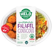 Spar maaltijdsalade couscous falafel