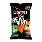 Doritos Heatwave chipotle and cream